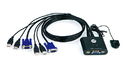 Aten 4 Port USB KVM Switch