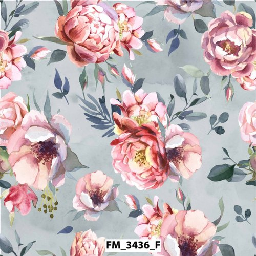 Digital Printed Fabric for Kurti and Garment Use