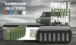 Black Landmark Portable Speaker, Number: BT1010FM