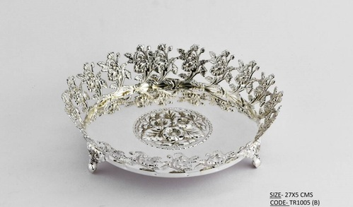 Silver plated gift articles trays at rs 3000 piece kalbadevi silver plated gift articles trays negle Images
