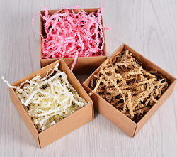 Shredded Paper Filler for Box