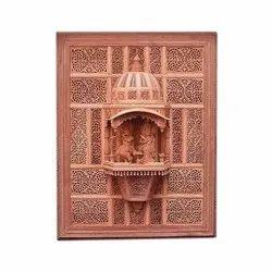 Decorative Handicraft Sandalwood Temple Jharokha, For Interior Decor