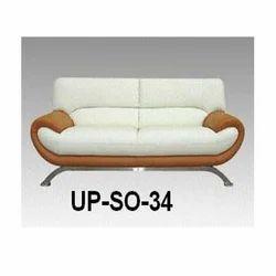 Two Seater White Sofa