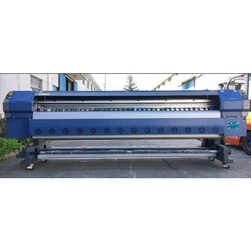 Heavy Duty Flex Solvent Printing Machine, Model Name/Number: 512 KM 42 PL