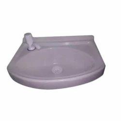 White FRP FRP Wash Basin
