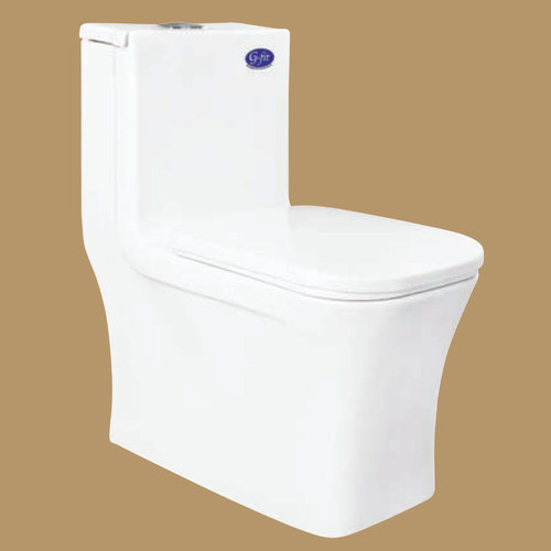 G-fit White Commode Seat