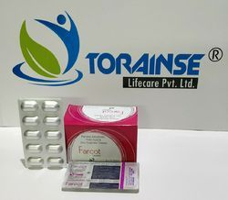 Ferrous Ascorbate-100mg  Folic Acid 1.5 mcg zinc 22.5 mg