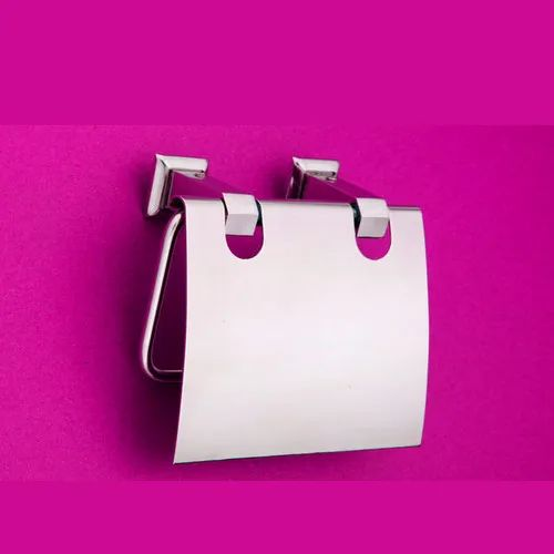 Complementary Toilet Tissue Holder with Cover