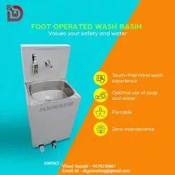 Diya Floor Pedal Operated Hand Wash Basin