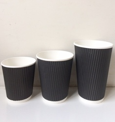 Triple Walled Rippled Cup