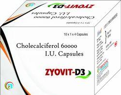 Cholecaliciferol 6000 I.U Cap