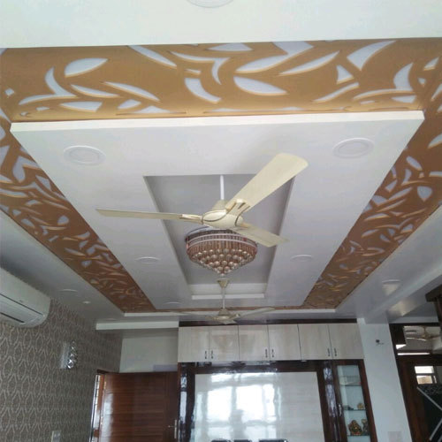 Designer False Ceiling Pop Design पओप फलस