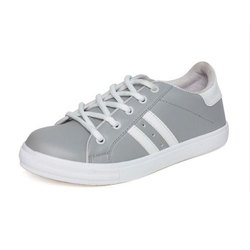 Vendoz Grey and White Casual Women Shoes, Size: 6-11