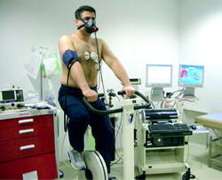 Cardio Pulmonary Exercise Testing Unit