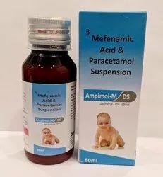 Paracetamol 250mg, Mefenamic Acid 100 Mg Syrup