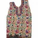 Embroidered Multicolor Ladies Cotton Dress Material
