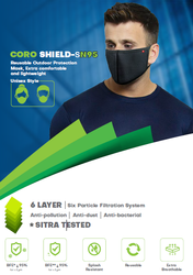 Scott Coro Shield SN95 6 Layer Mask