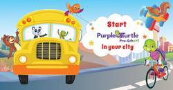 Preschool Franchise : Purple Turtle