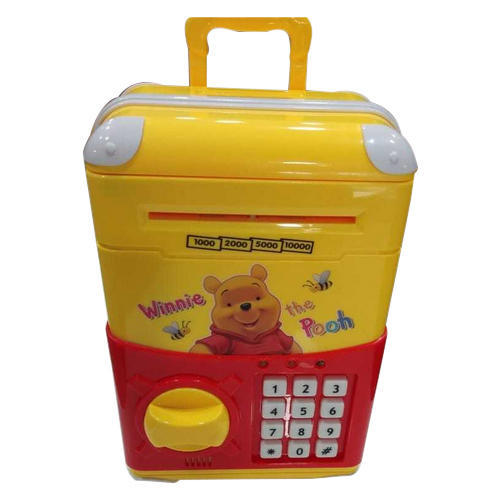 Red And Yellow Winnie Travel Bag Toy