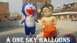 Walking Inflatable Cartoon
