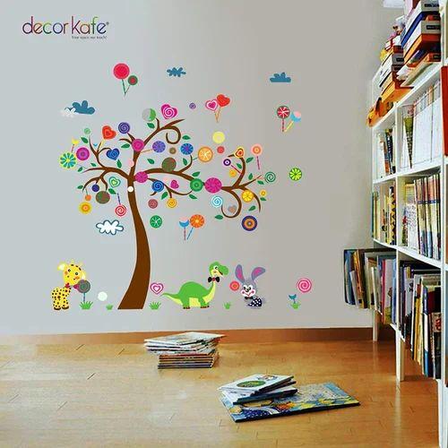 multicolor multiple bedroom children's room decorative wall stickers