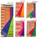 Peppy Collection 6.3 M (with Blouse Piece) Tanna Paithani Silk Saree