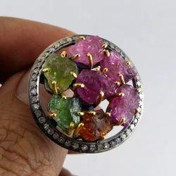 Tourmaline Diamond Jewellery