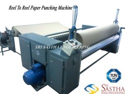 Reel To Reel Paper Punching Machine Manufacturer From