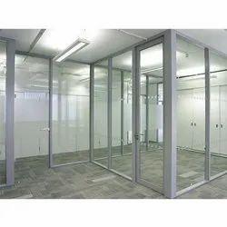 UPVC Office Door Partition