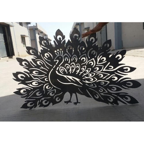 Decorative Metal Peacock Wall Art