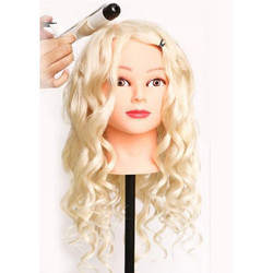 Japanese Heat Resistant Hair Dummy ( Colour Off White )