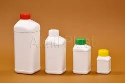 AP33 Side Neck Square Shape HDPE Bottle
