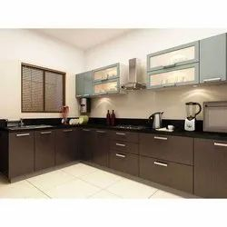 Commercial  Wooden Modular Kitchen
