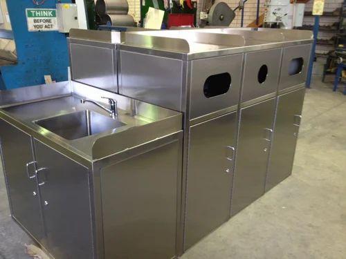 Industrial Services Aluminium Fabrication Job Work