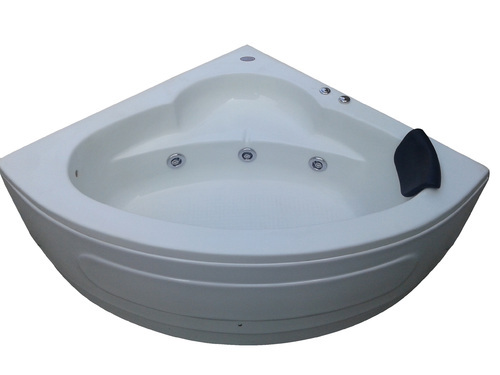 The Babe Jacuzzi Bathtub - 4' Corner - White