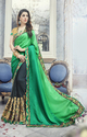 Heavy Designer Embroidery Work  Saree