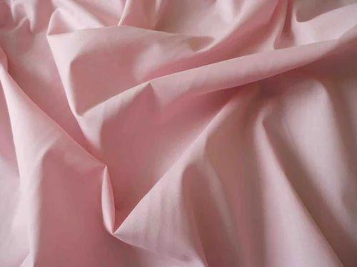 Plain Pink Poly Cotton Fabric, GSM: 100-150, Rs 150 /meter Shree Geeta  Textile | ID: 18974689388