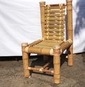 Modern Bamboo Cane Chair