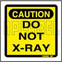 140035 Caution Sticker - Do Not X-ray, Packaging Type: Packet