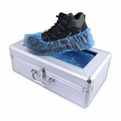 Aadvay Aluminum Alloy Automatic Shoe Cover Dispenser, Size: 49.5x25.5x17  Cm, 4.5 Kg, Rs 4400 /piece   ID: 21017136133
