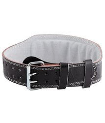 Leather Gym Belt (Black)