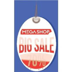 Advertising PVC Dangler