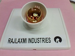 Raj Plastic Modular Type Bulb Holder