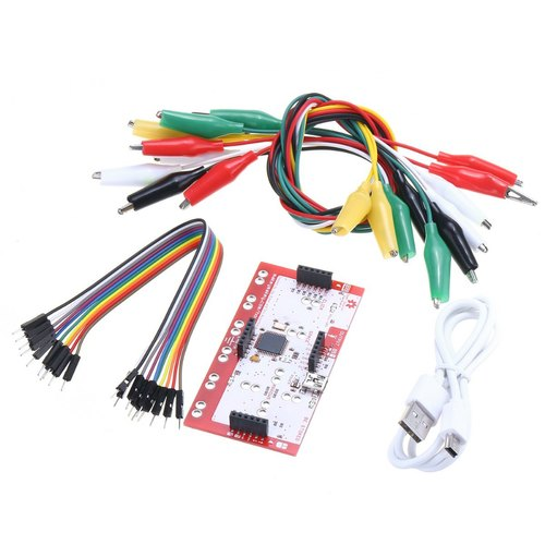 Alligator Clip Jumper Wire Standard Controller Board Kit For Makey on