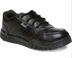 Paragon Kids Black School Shoes