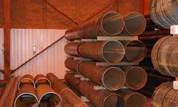 CORTEN STEEL PIPES