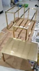TABLE GOLD PVD COATING