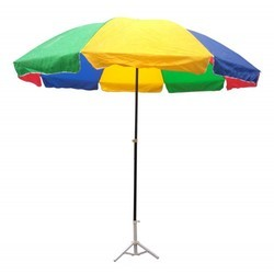 Plain Polyester Garden Umbrella, Size: 3x3 Mtrs 5x5 Mtrs 6x6 Mtrs