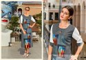 Rachna Poly Linen 3D Printed Work Zoom-3D Catalog Kurti For Women