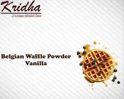 Kridha Vanilla Belgian Waffle Premix Powder - Milk Base, Packaging Type: Packet